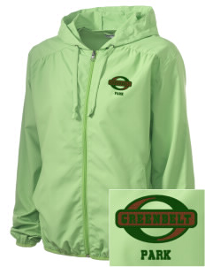 Greenbelt Park Embroidered Women's Hooded Essential Jacket