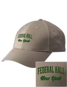 Federal Hall National Memorial  Embroidered New Era Adjustable Structured Cap