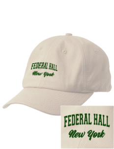 Federal Hall National Memorial Embroidered Champion 6-Panel Cap