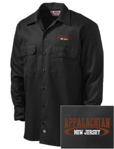 Appalachian National Scenic Trail Embroidered Dickies Men's Long-Sleeve Workshirt