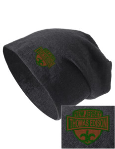 Thomas Edison National Historical Park Embroidered Slouch Beanie