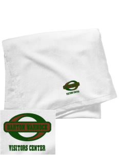 Barton Warnock Visitors Center Embroidered Beach Towel