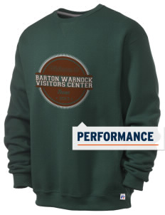 Barton Warnock Visitors Center  Russell Men's Dri-Power Crewneck Sweatshirt