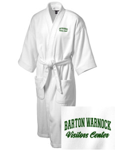 Barton Warnock Visitors Center Embroidered Terry Velour Robe