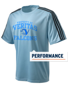 Veritas Preparatory Academy Falcons adidas Men's ClimaLite T-Shirt