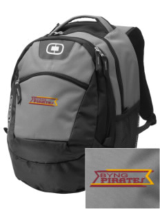 Byng Junior High School Pirates Embroidered OGIO Rogue Backpack