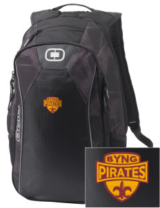 Byng Junior High School Pirates Embroidered OGIO Marshall Backpack