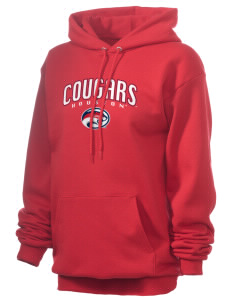 University of Houston Cougars Unisex 7.8 oz Lightweight Hooded Sweatshirt