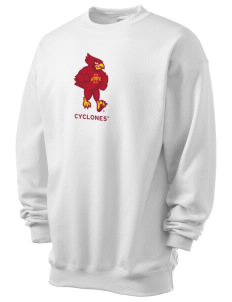 Iowa State University Cyclones Men's 7.8 oz Lightweight Crewneck Sweatshirt