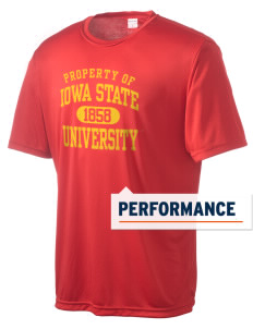 Iowa State University Cyclones Men's Competitor Performance T-Shirt