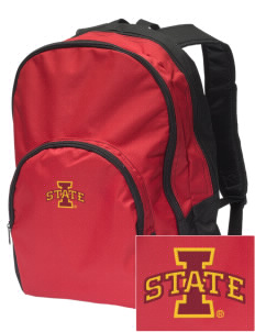 Iowa State University Cyclones Embroidered Value Backpack