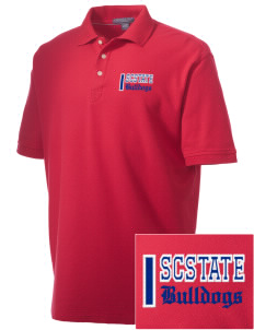 South Carolina State University Bulldogs Embroidered Men's Performance Plus Pique Polo