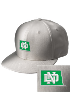 University of North Dakota Athletics  Embroidered New Era Flat Bill Snapback Cap