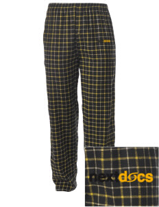 NextDocs Conshohocken Embroidered Men's Button-Fly Collegiate Flannel Pant