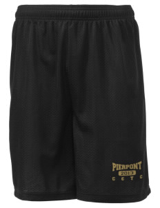 "Pierpont Community & Technical College C&TC Men's Mesh Shorts, 7-1/2"" Inseam"
