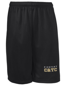 "Pierpont Community & Technical College C&TC Long Mesh Shorts, 9"" Inseam"