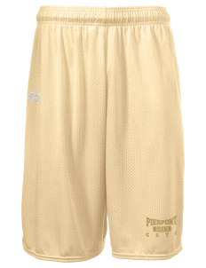 "Pierpont Community & Technical College C&TC  Russell Deluxe Mesh Shorts, 10"" Inseam"