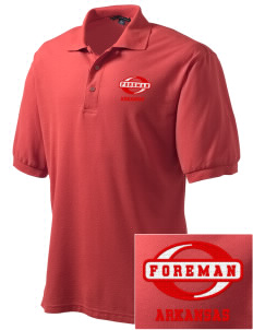 Foreman Embroidered Men's Silk Touch Polo