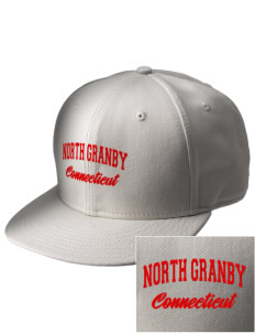 North Granby  Embroidered New Era Flat Bill Snapback Cap