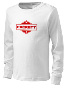 Everett  Kid's Long Sleeve T-Shirt
