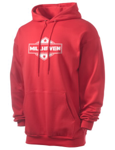 Millhaven Men's 7.8 oz Lightweight Hooded Sweatshirt
