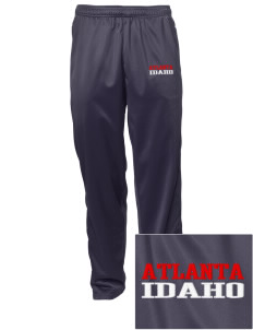 Atlanta Embroidered Men's Tricot Track Pants
