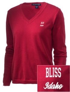 Bliss Embroidered Women's V-Neck Sweater