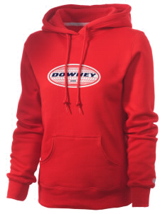 Downey Russell Women's Pro Cotton Fleece Hooded Sweatshirt