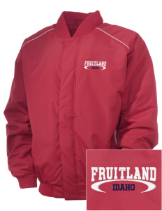 Fruitland Embroidered Russell Men's Baseball Jacket