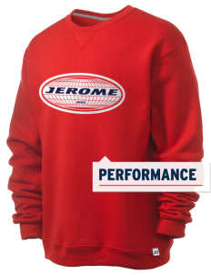Jerome  Russell Men's Dri-Power Crewneck Sweatshirt