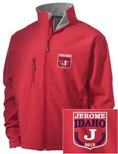 Jerome Embroidered Men's Soft Shell Jacket