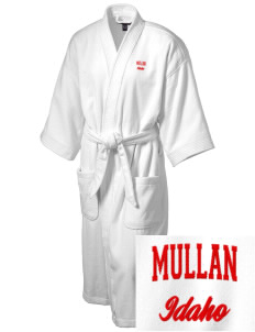 Mullan Embroidered Terry Velour Robe