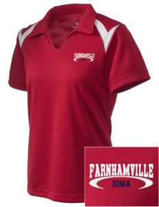 Farnhamville Embroidered Holloway Women's Laser Polo