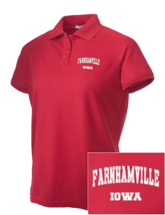 Farnhamville Embroidered Women's Technical Performance Polo