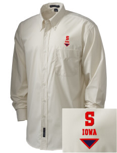 Shelby  Embroidered Men's Easy Care, Soil Resistant Shirt
