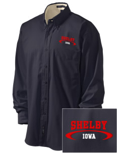 Shelby Embroidered Men's Easy-Care Shirt