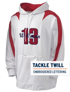 Wellman Holloway Men's Sports Fleece Hooded Sweatshirt with Tackle Twill