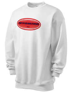 Wyoming Men's 7.8 oz Lightweight Crewneck Sweatshirt