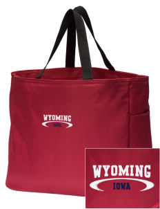 Wyoming Embroidered Essential Tote