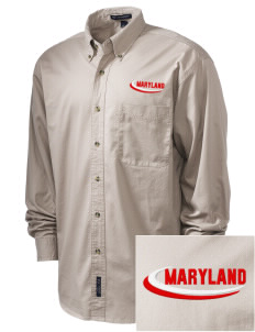 Montgomery Village Embroidered Men's Twill Shirt