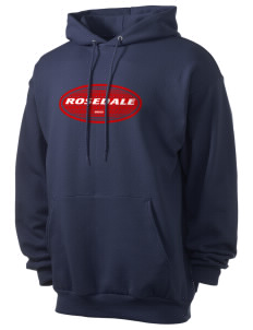 Rosedale Men's 7.8 oz Lightweight Hooded Sweatshirt