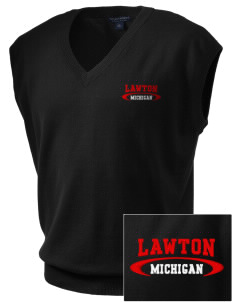 Lawton Embroidered Men's Fine-Gauge V-Neck Sweater Vest