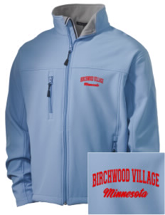 Birchwood Village Embroidered Men's Soft Shell Jacket