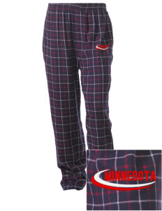 Ceylon Embroidered Unisex Button-Fly Collegiate Flannel Pant