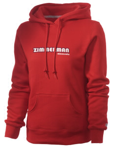 Zimmerman Russell Women's Pro Cotton Fleece Hooded Sweatshirt
