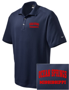 Ocean Springs Embroidered Nike Men's Dri-Fit Classic Polo