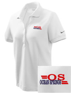 Ocean Springs Embroidered Nike Women's Pique Golf Polo