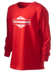 Shannon Kid's 6.1 oz Long Sleeve Ultra Cotton T-Shirt