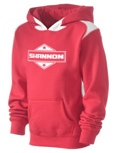 Shannon Kid's Pullover Hooded Sweatshirt with Contrast Color