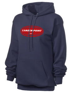Camden Point Unisex 7.8 oz Lightweight Hooded Sweatshirt